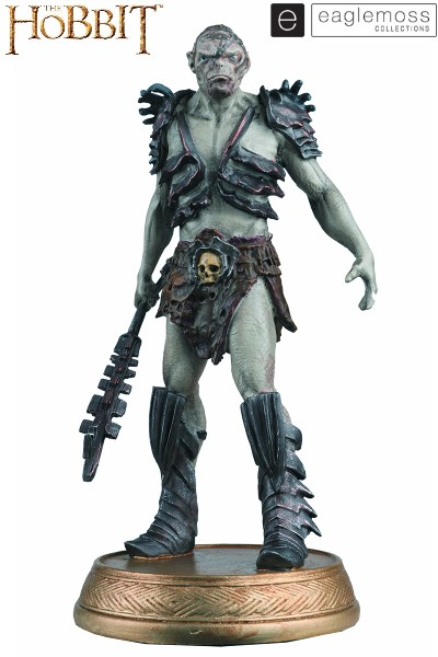 Eaglemoss The Hobbit Bolg The Orc with Collector Magazine
